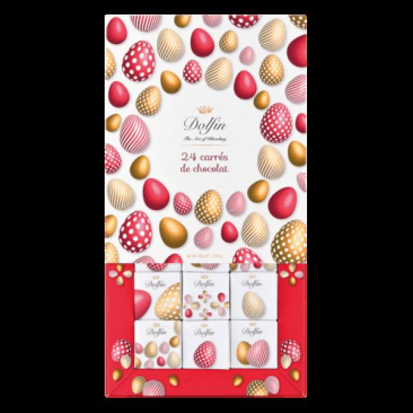 Sortiment aus 24 Schokoladen-Minitafeln