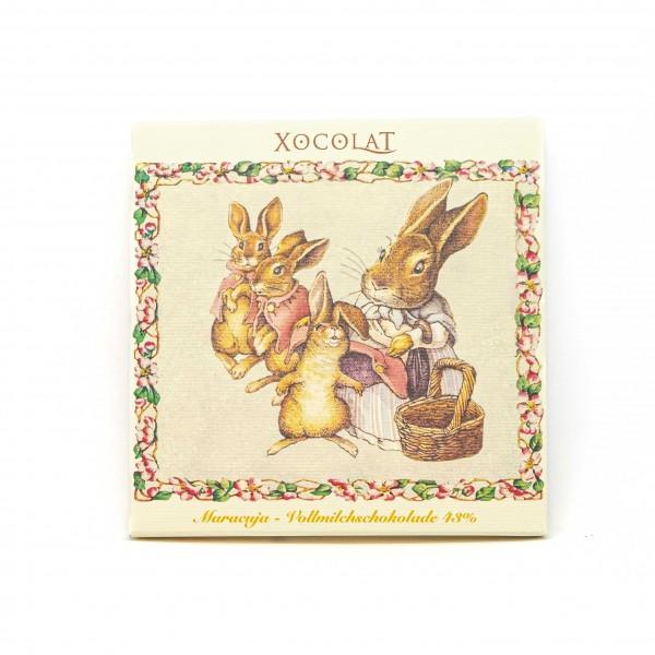 Ostern Maracuja - Vollmilchschokolade 43%