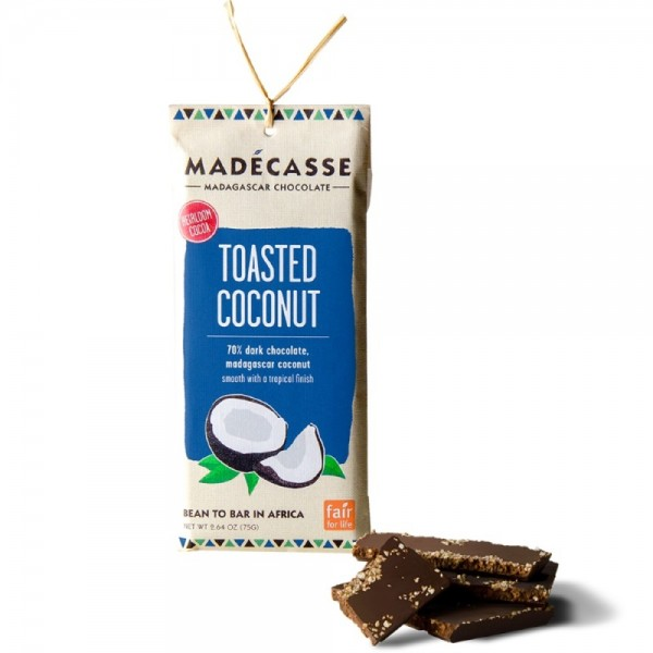 Toasted Coconut Dark Chocolate