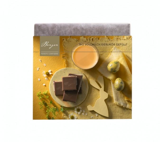 Vollmilchschokolade Eierlikör gefüllt